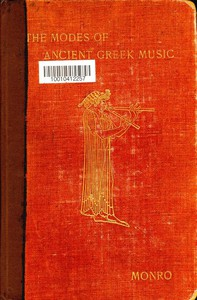 Cover of The Modes of Ancient Greek Music