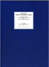 Cover of The Life of Mrs. Humphry Ward