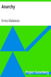 Cover of Anarchy