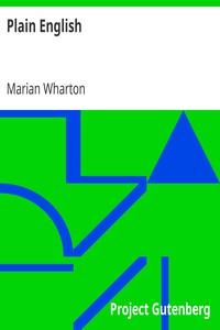 Cover of Plain English