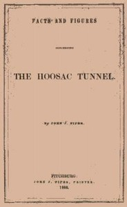 Cover of Facts and Figures Concerning the Hoosac Tunnel