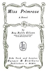 Miss Primrose: A Novel