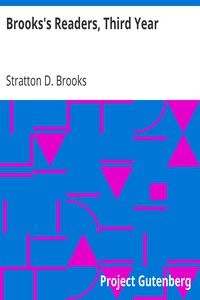 Cover of Brooks's Readers, Third Year