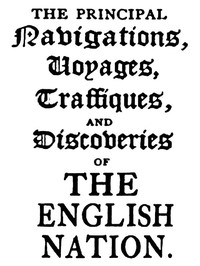Cover of The Principal Navigations, Voyages, Traffiques, and Discoveries of the English Nation — Volume 14 America, Part III
