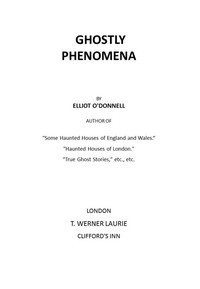 Cover of Ghostly Phenomena