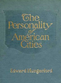 Cover of The Personality of American Cities
