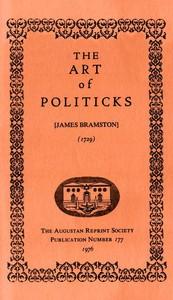 Cover of The Art of Politicks
