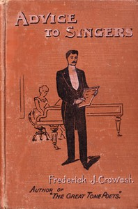 Cover of Advice to Singers