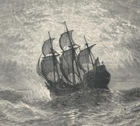 Cover of The Mayflower and Her Log; July 15, 1620-May 6, 1621 — Complete