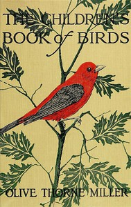 #freebooks – The Children's Book of Birds by Olive Thorne Miller