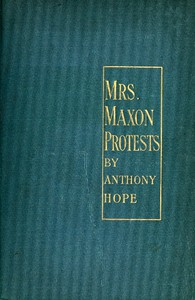 Cover of Mrs. Maxon Protests