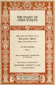 The Diary of John Evelyn (Volume 1 of 2)