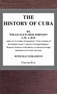 Cover of The History of Cuba, vol. 5