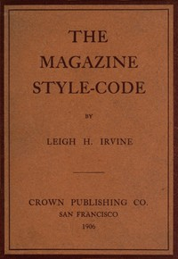Cover of The Magazine Style-Code