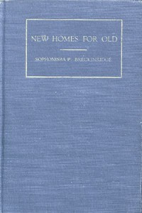 Cover of New Homes for Old