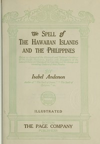 Cover of The Spell of the Hawaiian Islands and the Philippines