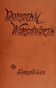 Cover of Dorothy Wordsworth: The Story of a Sister's Love