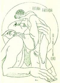 Cover of Futuria Fantasia, Winter 1940