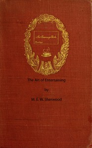 Cover of The Art of Entertaining