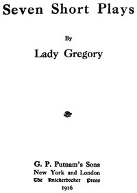 Cover of Seven Short Plays