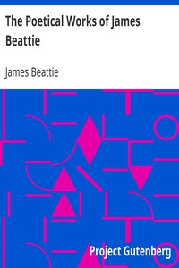 Cover of The Poetical Works of James Beattie