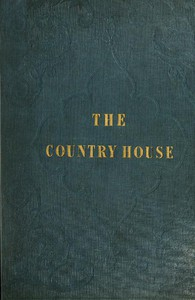 Cover of The Country House (with Designs)