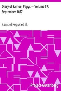 Cover of Diary of Samuel Pepys — Volume 57: September 1667