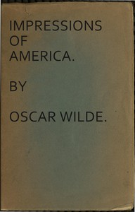 Cover of Impressions of America