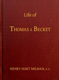 Cover of Life of Thomas à Becket