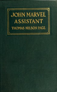 Cover of John Marvel, Assistant