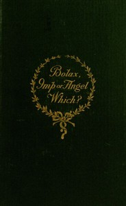 Cover of Bolax, Imp or Angel—Which?