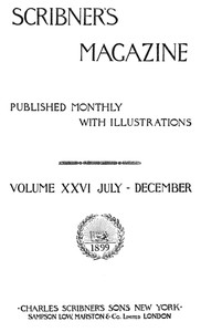 Cover of Scribner's Magazine, Volume 26, July 1899