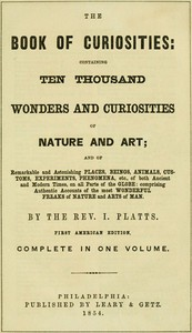 Cover of The Book of Curiosities