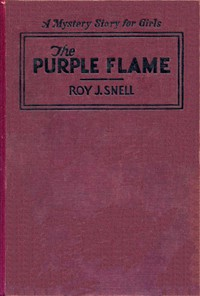 Cover of The Purple FlameA Mystery Story for Girls