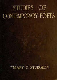 Cover of Studies of Contemporary Poets