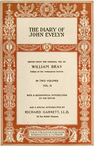 Cover of The Diary of John Evelyn (Volume 2 of 2)