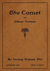 Cover of The Comet, and Other Verses