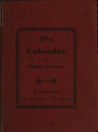 The Calendar, and Other Verses