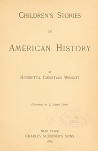 Cover of Children's Stories in American History