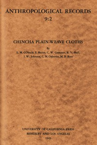 Cover of Chincha Plain-Weave Cloths