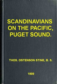 Cover of Scandinavians on the Pacific, Puget Sound