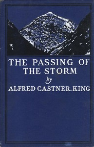 Cover of The Passing of the Storm, and Other Poems