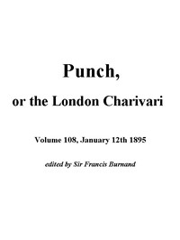 Cover of Punch, or the London Charivari, January 12th, 1895
