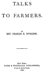 Cover of Talks to Farmers