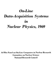 Cover of On-Line Data-Acquisition Systems in Nuclear Physics, 1969