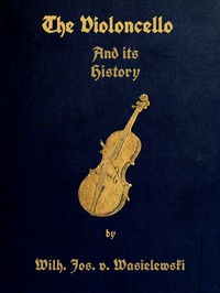 Cover of The Violoncello and Its History