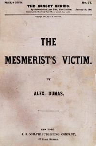 Cover of The Mesmerist's Victim