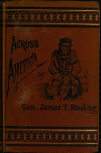 Cover of Across America; Or, The Great West and the Pacific Coast