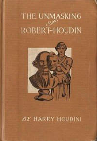 Cover of The Unmasking of Robert-Houdin