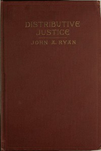 Cover of Distributive Justice: The Right and Wrong of Our Present Distribution of Wealth